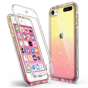 M-series Bling Sparkle Clear Case for iPod Touch 5/6/7 - Ulakcases