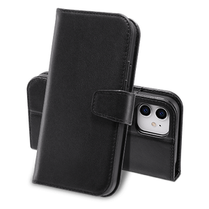 Genuine Leather Flip Wallet Case for iPhone 12/12 Pro - Ulakcases