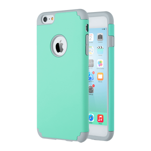 Dual Layer Style Case for iPhone 6 Plus/6S Plus - Ulakcases