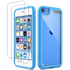 T-Series Dual Layer Style Case for iPod Touch 5/6/7 (with 2 Screen Protectors)
