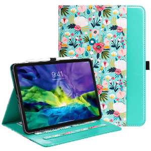 Folio Smart Case with Pencil Holder and Pocket for iPad Pro 11 - Ulakcases