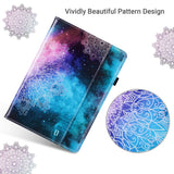 9.7 Inches PU Leather Folio Smart Stand Cover designed for 6th generation 2018 (Model: A1893,A1954) 5th generation 2017(Model: A1822,A1823) Not fit other iPads Hybrid Shockproof  TPU back shell with Scratchproof Premium PU leather exterior card holder designed to store cards and notes Auto wake & sleep function in use