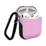 Dual Layer Sturdy Case designed for Apple AirPods 1 and 2 generation Made of TPU, prevent scratches, dust and fingerprint. Precise cutouts enable earphone charging with case on; valid for wireless and cable charging