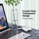 Clear case compatible with Apple AirPods Pro (2019) Precise cutouts enable wire charging with case on. Support wireless charging without interference; Front LED is visible when charging Crystal Clear case attached with a carabiner keyring ideal gift for girls and women; Includes 1 x AirPods Pro Case, 1 x Carabiner