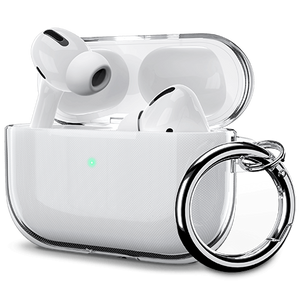Clear Case for AirPods Pro (with 1 Carabiner) - Ulakcases