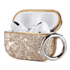 PU leather glitter case compatible with Apple AirPods Pro (2019) Precise cutouts enable wire charging with case on. Support wireless charging without interference; Front LED is visible when charging Cute glitter case attached with a carabiner, ideal gift for girls and women; Includes 1 x AirPods Pro Case, 1 x Carabiner