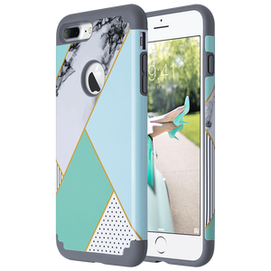 Dual Layer Style Case for iPhone 7 Plus - Ulakcases