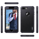 PC and TPU Dual Layer Case for iPhone 8 Plus 5.5 inch (2017) not fit other iPhones Unique pattern won't fade or flake off Reinforced bumper corners enable drop protection raised bezels keep screen and camera scratchproof Precise cutouts and responsive buttons allow easy access to all functions support wireless charging