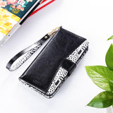 Flip PU Leather Kickstand Wallet Case for iPhone Xs Max - Ulakcases