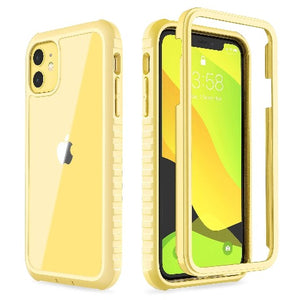 Clear Case for iPhone 11 Light Yellow - Ulakcases