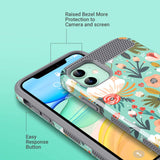 Dual Layer Case for iPhone 11 6.1 inch (2019) not fit other iPhones. Unique pattern won't fade or flake off. Reinforced bumper corners provide drop protection, raised bezels keep screen and camera scratchproof Precise cutouts and responsive buttons allow easy access to all functions, support wireless charging