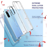 Clear case for Samsung Galaxy S20+ Plus 5G 6.7 inches (2020), not fit other versions. Hybrid prime quality hard PC and soft TPU material Raised lips protect the screen and camera from scratches Slim and lightweight to support wireless charging Precise cutouts and responsive buttons allow easy access to all functions.
