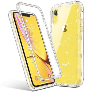 Glitter Case for iPhone XR 6.1 inch (2018) not fit other iPhones. glitters blend in the case don't fade or flake off. Reinforced bumper corners provide drop protection, raised bezels keep screen and camera scratchproof Precise cutouts and responsive buttons allow easy access to all functions, support wireless charging