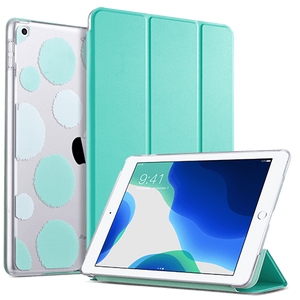 Ulak 10.2 Inches Slim and light PU Leather Folio Smart Stand Cover designed for 8th generation 2020 (Model: A2270, A2428, A2429, A2430) 7th generation 2019(Model: A2197/A2198/ A2200) Not fit other iPads premium PU leather with soft microfiber lining and clear back cover provides protection against fingerprints and scratches Mint color