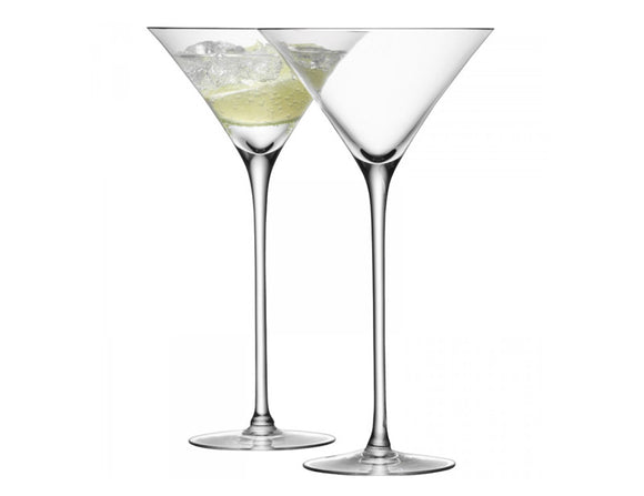 LSA Bar Cocktail Glass 275ml Clear, Set of 2