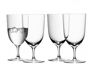 LSA Wine Water Glass 400ml Clear, Set of 4