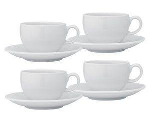 Per Casa Rotondo Tea Cup & Saucer 230ml, Set of 4
