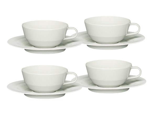 Gastronomy Allure Tea Cup & Saucer 290ml, Set of 4