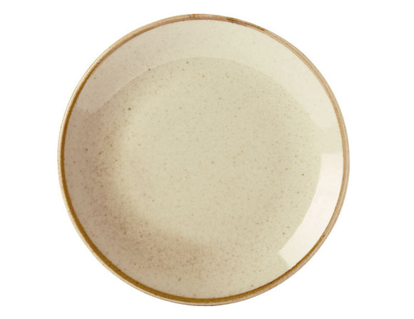 Rustic Seasons Dinner Plate 28cm With Wheat Décor