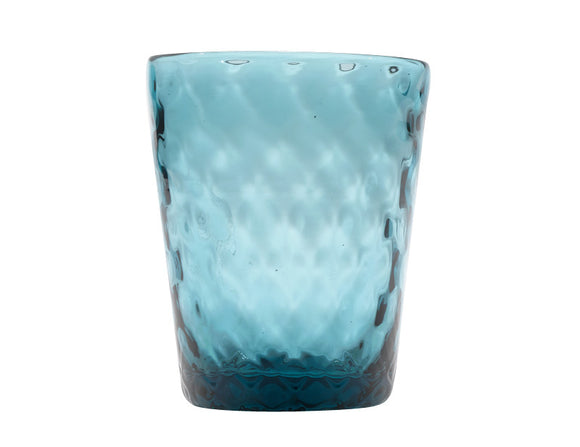 Zafferano Balloton Tumbler Glass Sea Green 320ml, Set of 6