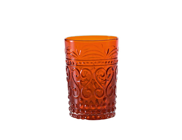 Zafferano Provenzale Tumbler Red 270ml, Set of 6
