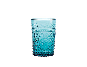 Zafferano Provenzale Tumbler Turquise, Set of 6