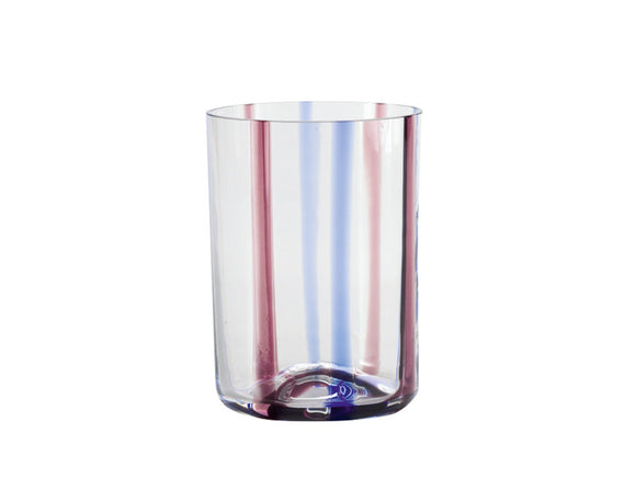 Zafferano Tirache Tumbler Glass Amethyst & Blue 350ml, Set of 6