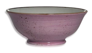 Artigiano Small Bowl 14cm, Set of 4, Pink Décor