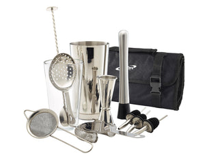 Soiree Stainless Steel Cocktail Kit, 12 Piece