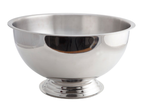 Soiree Stainless Steel Champagne/Punch Bowl 38cm