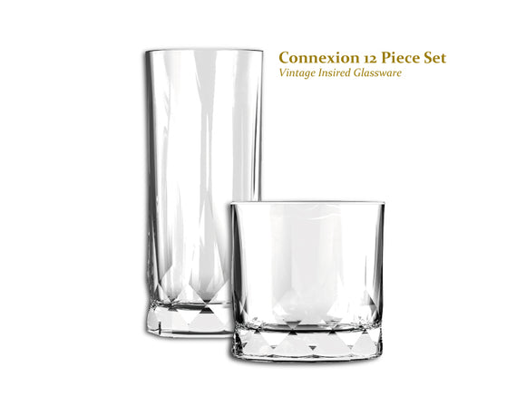 Ocean Connexion 12 Piece Glassware Set