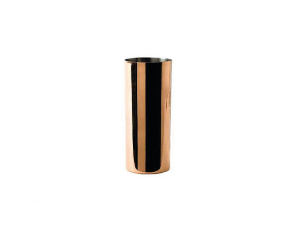 Soiree Solid Copper Collins Glass with Nickel Lining 420ml