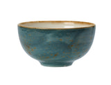 Rustic Craft Cereal Bowl 13cm, Blue Décor