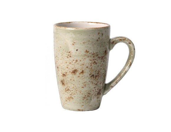 Rustic Craft Coffee Mug 34cl, Green Décor