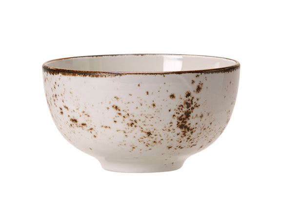 Rustic Craft Cereal Bowl 13cm, White Décor