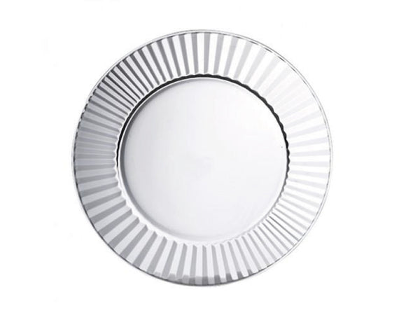 Glass Charger Plate 32cm, Set of 12