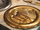 Sambonet Hannah Premium Gold Cutlery Set, 48 Pieces