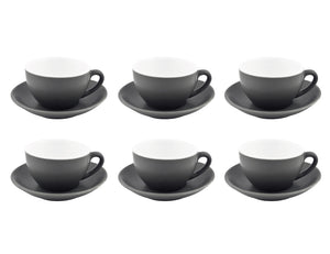 Bevande Cappuccino Cup 20cl, Set of 6, Slate