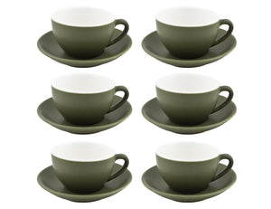 Bevande Tea Cup 28cl, Set of 6, Sage