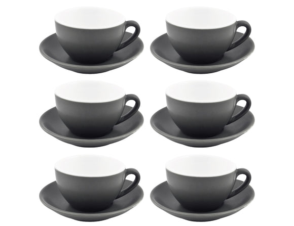 Bevande Tea Cup 28cl, Set of 6, Slate