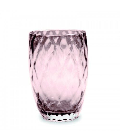 Zafferano Losanghe Tumbler Amethyst 38cl, Set of 6