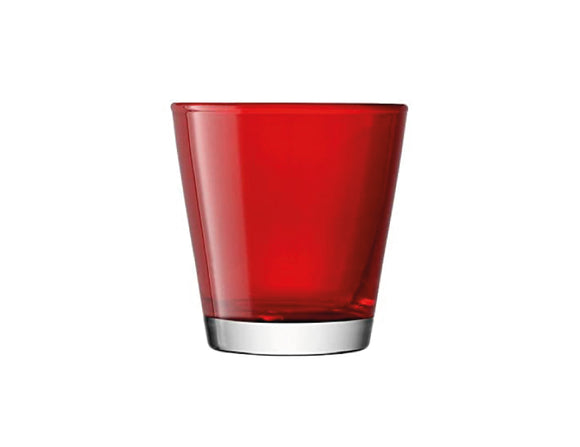 LSA Asher Red Tumbler 28cl, Set of 6