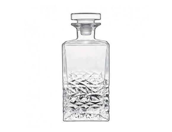 Mixology Textures Crystal Decanter 70cl