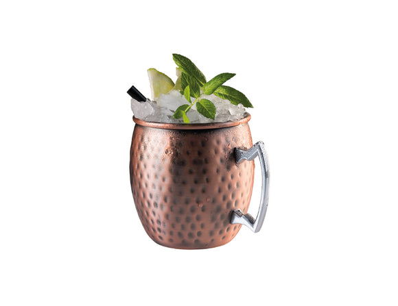 Soiree Moscow Mule Mug Hammered Antique Copper