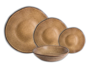 Rustic Natura Dinner Set, 16 Pieces