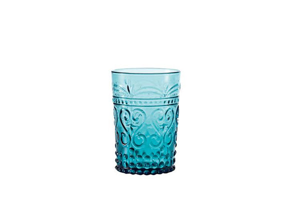 Zafferano Provenzale Tumbler 27cl Blue, Set of 6