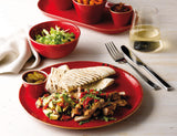Rustic Seasons Dinner Set Magma Décor, 5 Piece