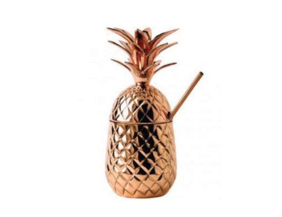 Soiree Special Edition Solid Copper Pineapple