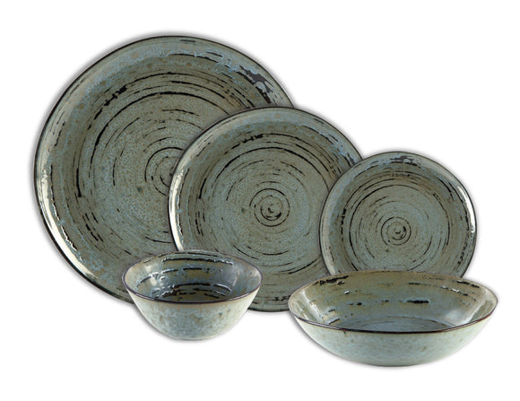 Rustic Vintage Dinner Set, 20 Piece