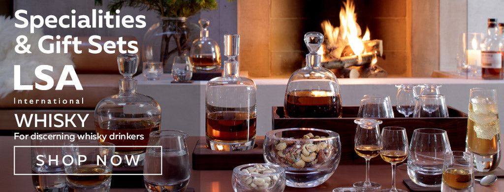 Whisky Specialities and Gift Sets from LSA International